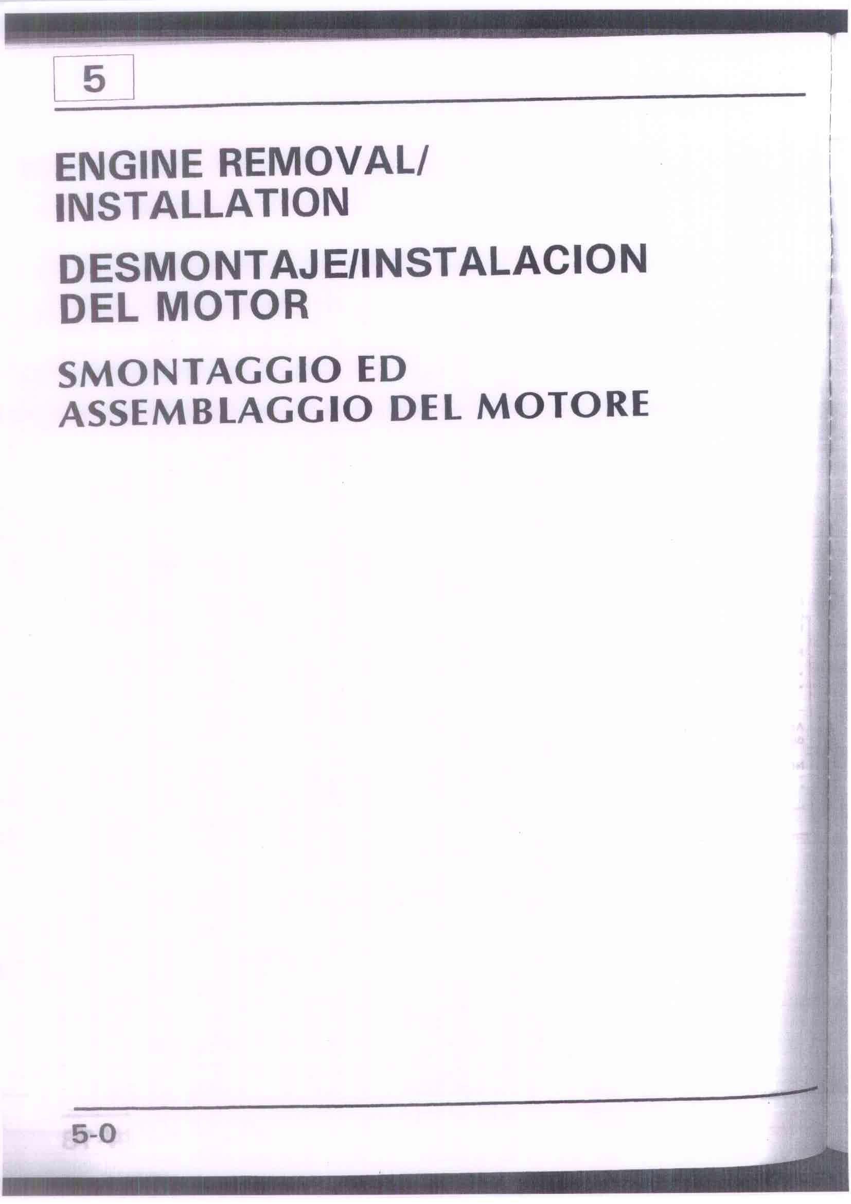 Capitolo05-Smontaggio ed assemblaggio del motore Pagina 01