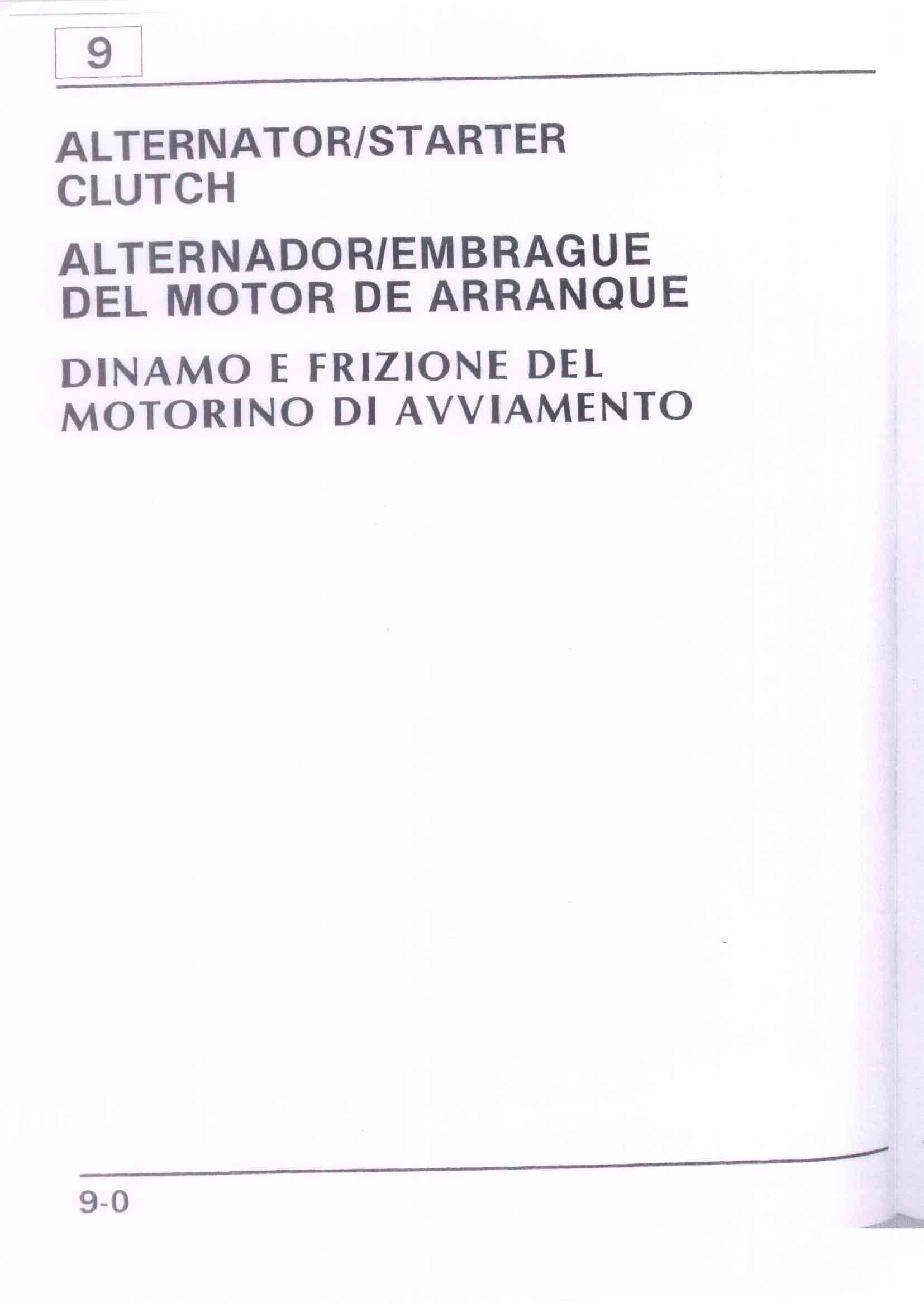 Capitolo09-Dinamo e frizione del motorino di avviamento Pagina 01