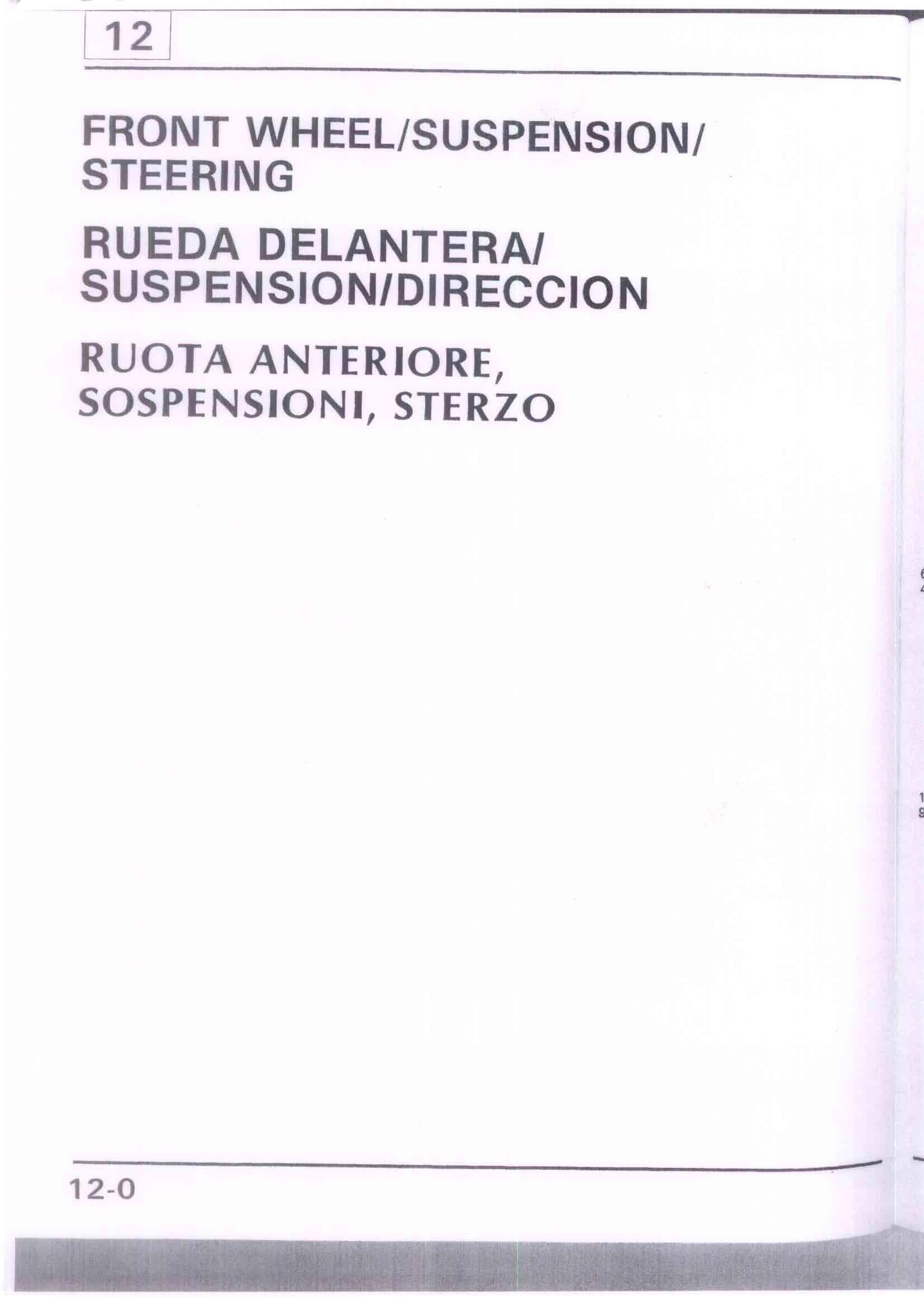 Capitolo12-Ruota anteriore sospensioni sterzo Pagina 01