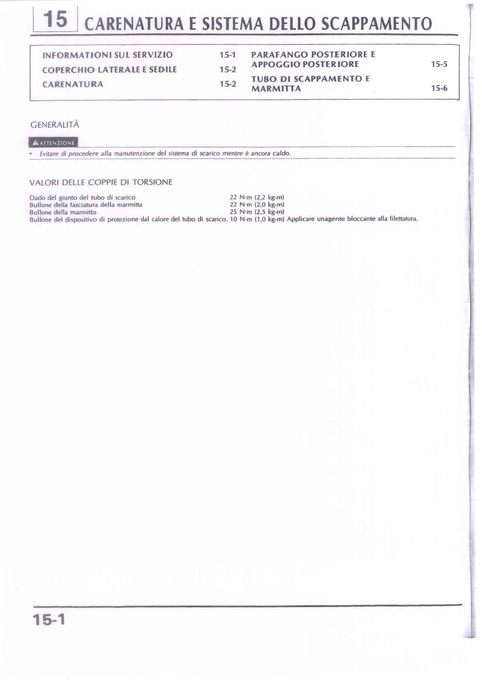 Capitolo15-Carenatura e sistema dello scappamento Pagina 01