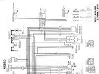 schema elettrico 1 serie senza spia cavalletto