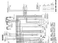 schema elettrico 1 serie spia cavalletto