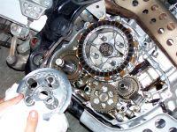 sostituzione dischi frizione 27