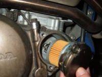 sostituzione olio e filtro 14