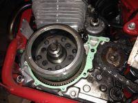 Sostituzione della ruota libera Honda NX650 Dominator